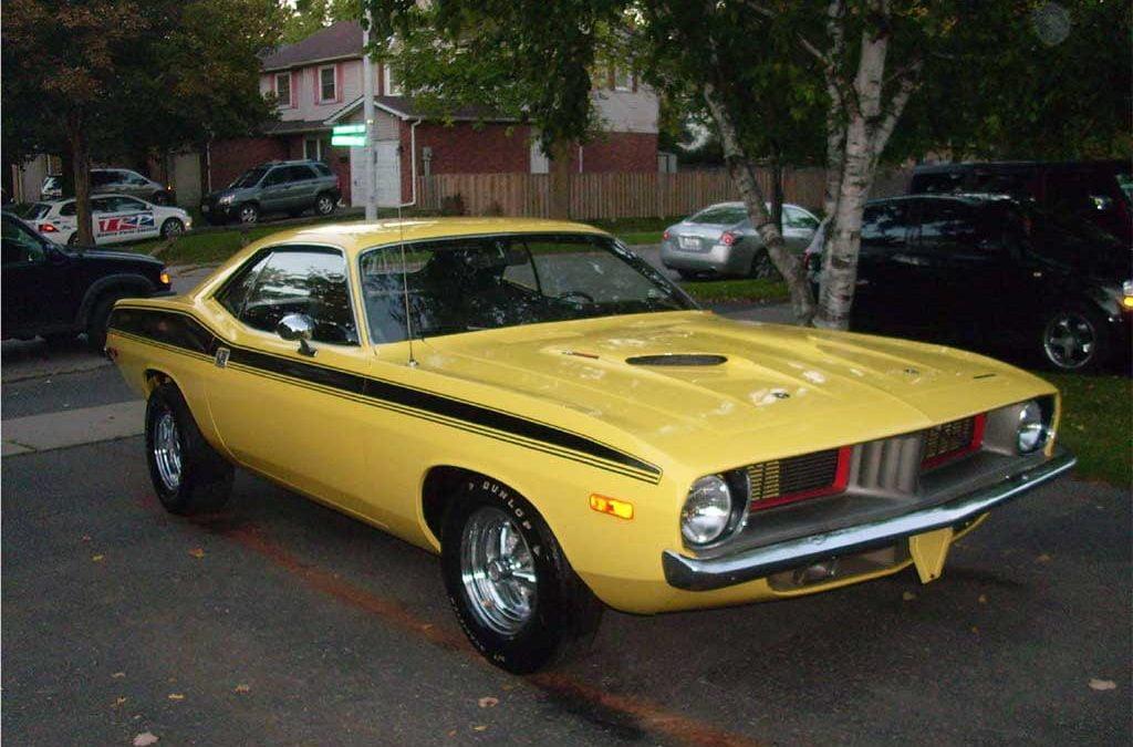 1973 Plymouth Barracuda