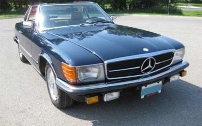1985 Mercedes Benz 500 SL