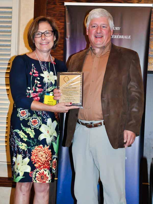 Proud Recipient of Brain Injury Corporate Award 2016