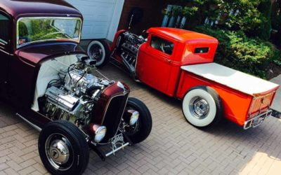 1932 Ford 5 Window Coupe & 1932 Ford Pick-up
