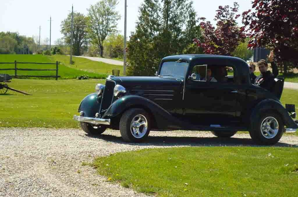 1934 3-Window Chevy Coupe
