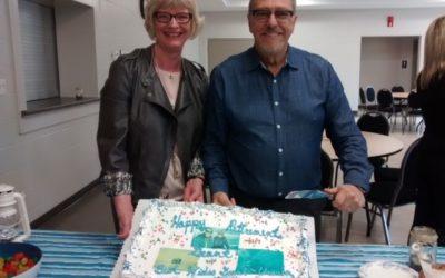 Happy retirement Grant Denstedt!