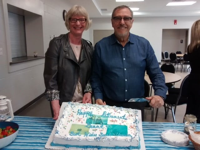 Happy retirement Grant Denstedt!