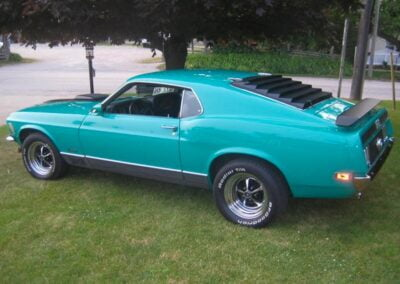 1970 Ford Mustang Mach 1-8